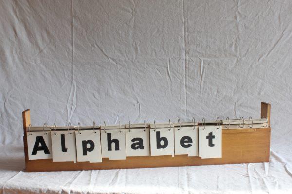 VENDU Coffret Alphabet Automatique 1932