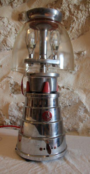 """VENDU Lampe / Mixer """"Turmix original"""" 50's"""