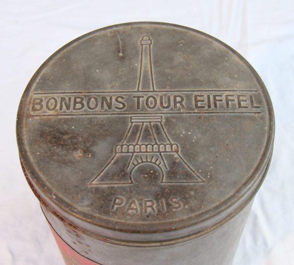 Boite à bonbons Tour Eiffel Paris